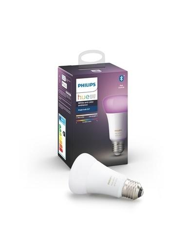 Philips Hue Renkli E27 Duylu Bluetooth Özellikli Akıllı Ampul Renkli